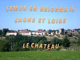 diaporama pps Semur-en-Brionnais – Saône-et-Loire – Le château