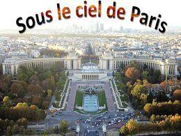 diaporama pps Sous le ciel de Paris