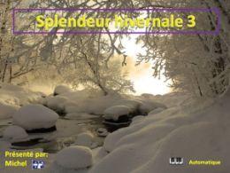 diaporama pps Splendeur hivernale 3
