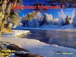 diaporama pps Splendeur hivernale 5