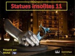 diaporama pps Statues insolites 11