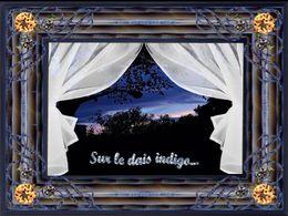 diaporama pps Sur le dais indigo
