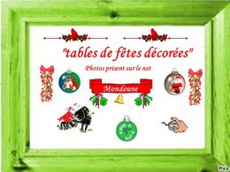 diaporama pps Tables de fête décorées
