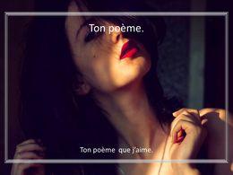 diaporama pps Ton poème