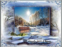 diaporama pps Un simple jour d'hiver