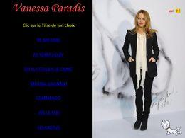 diaporama pps Vanessa Paradis I