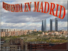 Bienvenida en Madrid