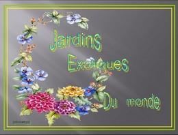 Jardins exotiques du monde