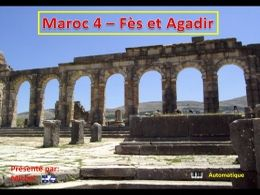 Fes et Agadir