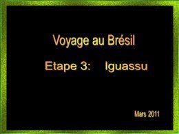 Brésil Iguassu
