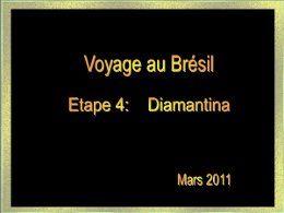 Voyage au Brésil 4: Diamantina