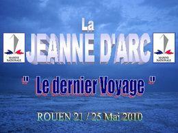 La Jeanne d'Arc dernier voyage