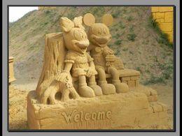 Blankenberge sculptures de sable
