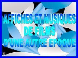 Affiches & musique de film