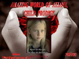 Amazing world of akiane child