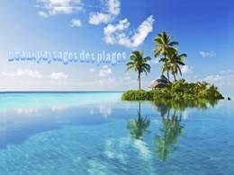Beaux paysages des plages