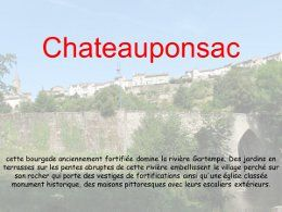 Chateauponsac