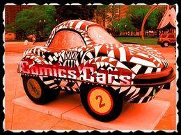 Comic's cars 2