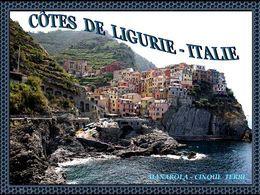 Côtes de Ligurie Italie