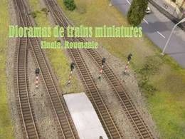 Dioramas de trains miniatures