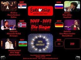 PPS musique Eurovision song contest 2007-2012