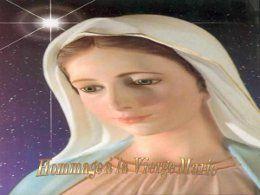 Diaporama croyance en Hommage à la Vierge Marie
