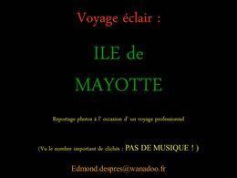 Ile de Mayotte
