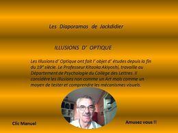 Diaporama insolite: Illusions d'optique