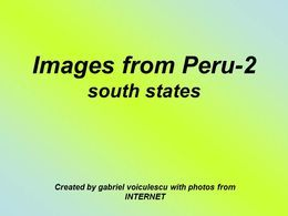 Images from Peru 2