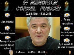 In memoriam Cornel Fugaru