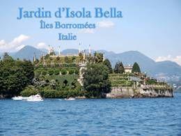 Jardin d'Isola Bella en Italie