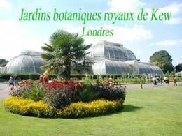 Jardins botanique royaux de Kew