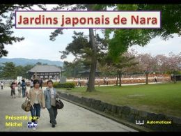 Jardins japonais de Nara