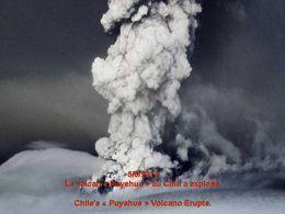 L'éruption au Chili 5/6/2011