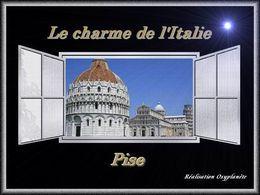 Le charme de l'Italie: Pise