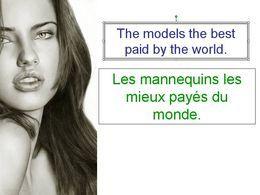 Diaporama célébrités Les mannequins les mieux payés du monde