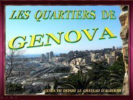 Diaporama Italie: Les quartiers de Genova