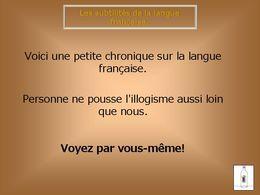 Les subtilités de la langue française