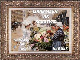 diaporama sur l'artiste Louis Marie de Schryver