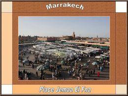 Marrakech scènes de rue