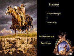 Peintures: Alfredo rodriguez et Don Crowley