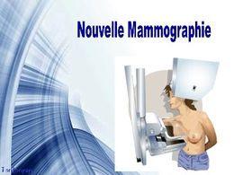 Diaporama blague Nouvelle mammographie