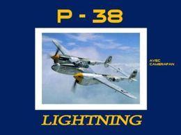 Diaporama avions Lockheed P-38 Lightning