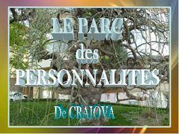 Découverte: Diaporama Parc des personnalités de Craiova