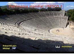 Patrimoine mondial Unesco 2