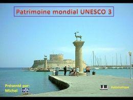 Patrimoine mondial de l'Unesco 3