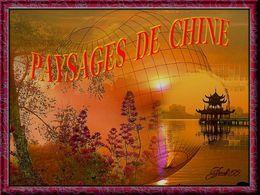 Paysages de Chine