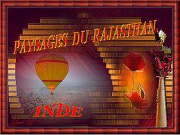 Paysages du Rajasthan