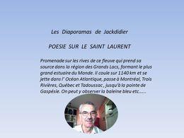 Poésie sur le Saint Laurent