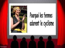 Diaporama blague Pourquoi les femmes adorent le cyclisme